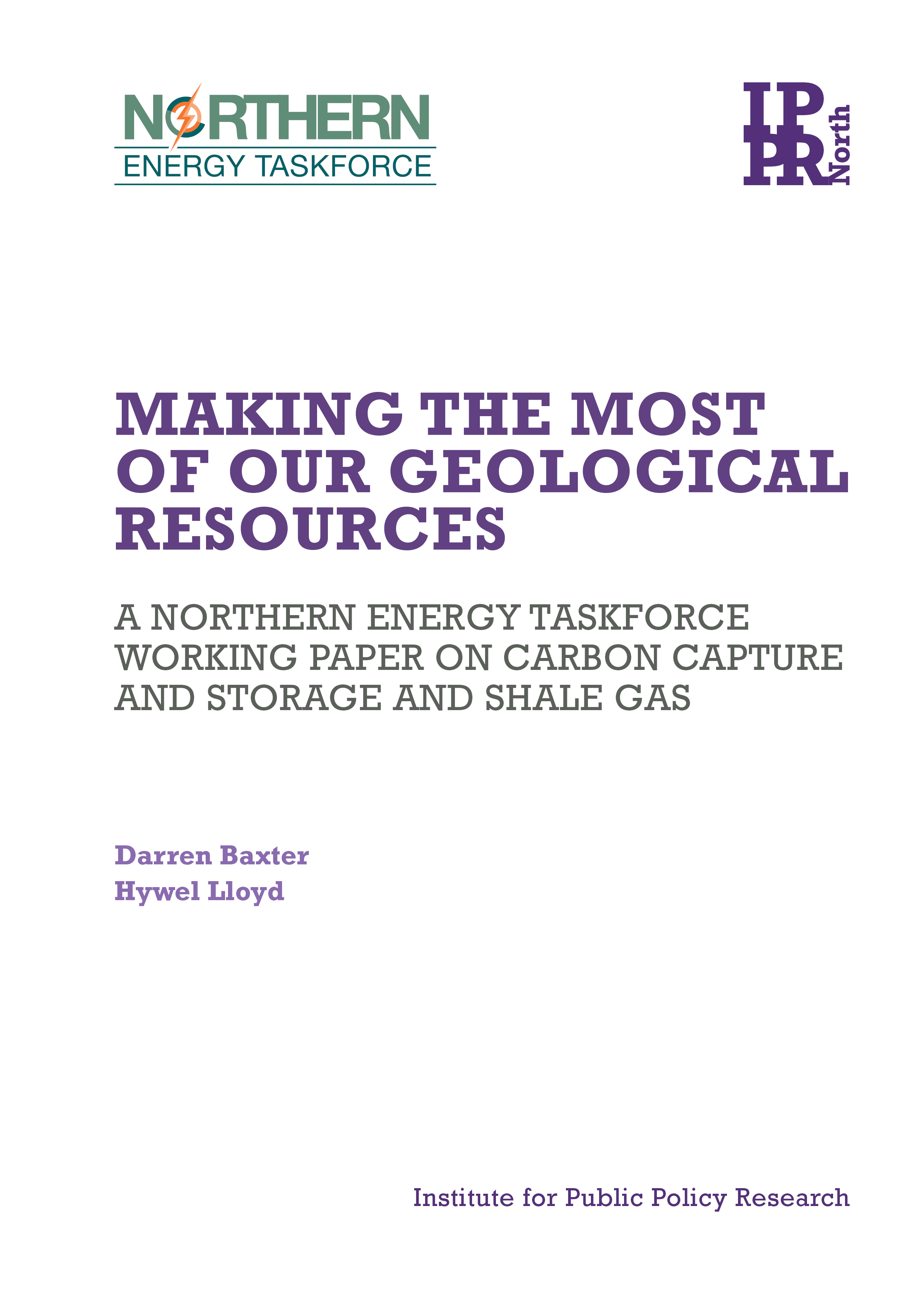 Making the most of our geological resources