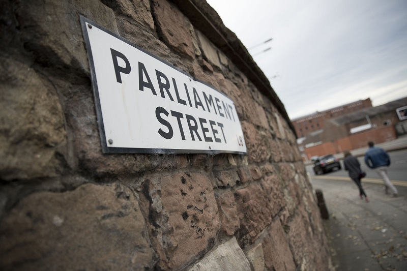 Parliament Street sign, Toxteth, Liverpool (Photo: Jess Hurd)