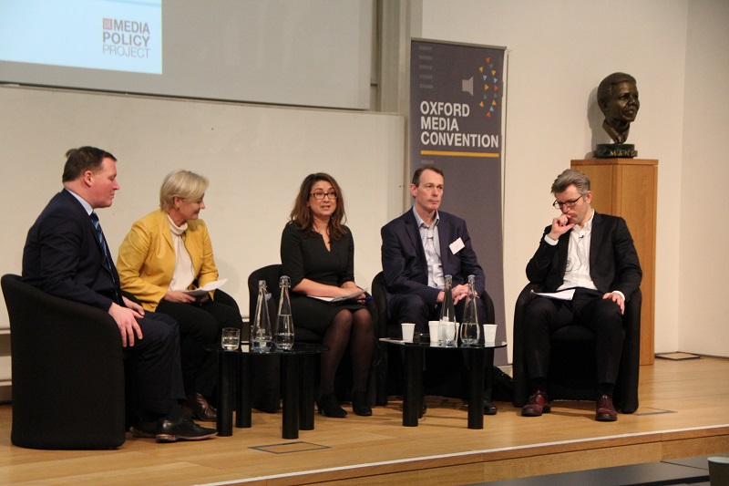 Panel discussion at Oxford Media Convention 2017