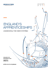 England's apprenticeships: Assessing the new system