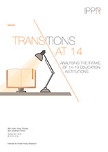 Transitions at 14: Analysing the intake of 14–19 education institutions