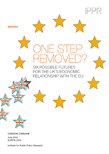 One step removed? Six possible futures for the UK's economic relationship with the EU