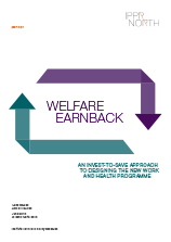 Welfare earnback