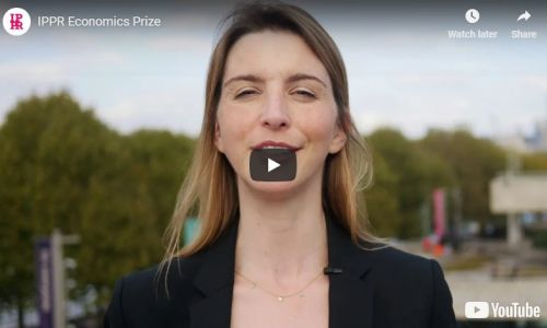 Watch: The IPPR Economics Prize