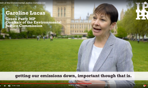 Watch: Launch of the Environmental Justice Commission