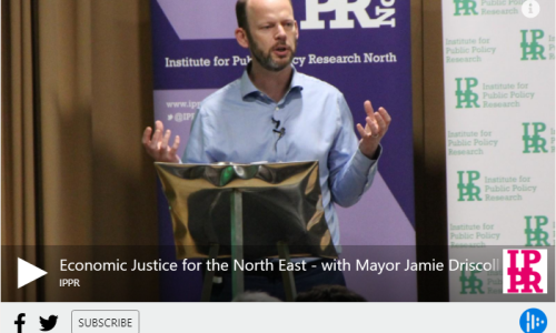 Listen: Economic Justice for the North East