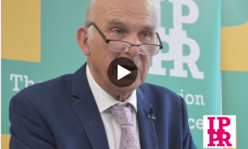 Tom Kibasi in Conversation with Sir Vince Cable