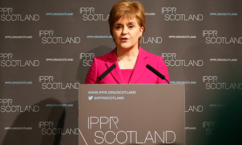 Nicola Sturgeon on Scotland and Europe