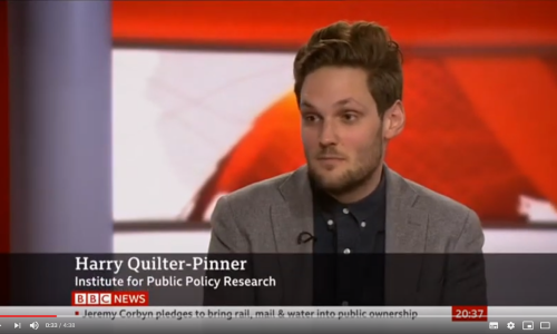 Watch: Harry Quilter-Pinner discusses social care on BBC News