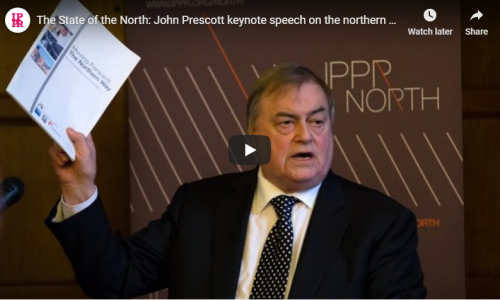 John Prescott's keynote speech at the State of the North 2015 conference