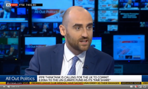 Watch: UN Climate Funding | Sky All Out Politics