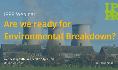 Webinar: Are we ready for Environmental Breakdown?