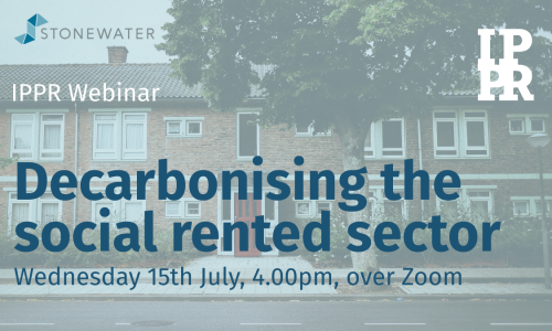 Webinar: Decarbonising the social rented sector