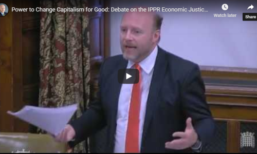 Watch: Select Committee discusses IPPR Commission on Economic Justice