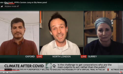 Watch: Carsten Jung on Sky News: Climate After Covid
