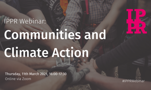 Webinar: Communities and Climate Action