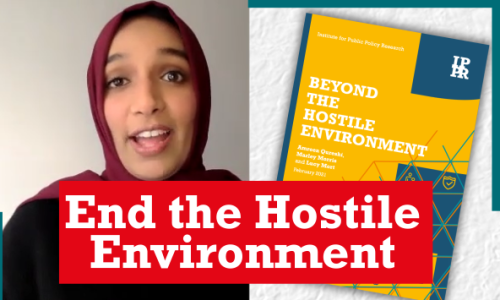 Watch: End the Hostile Environment